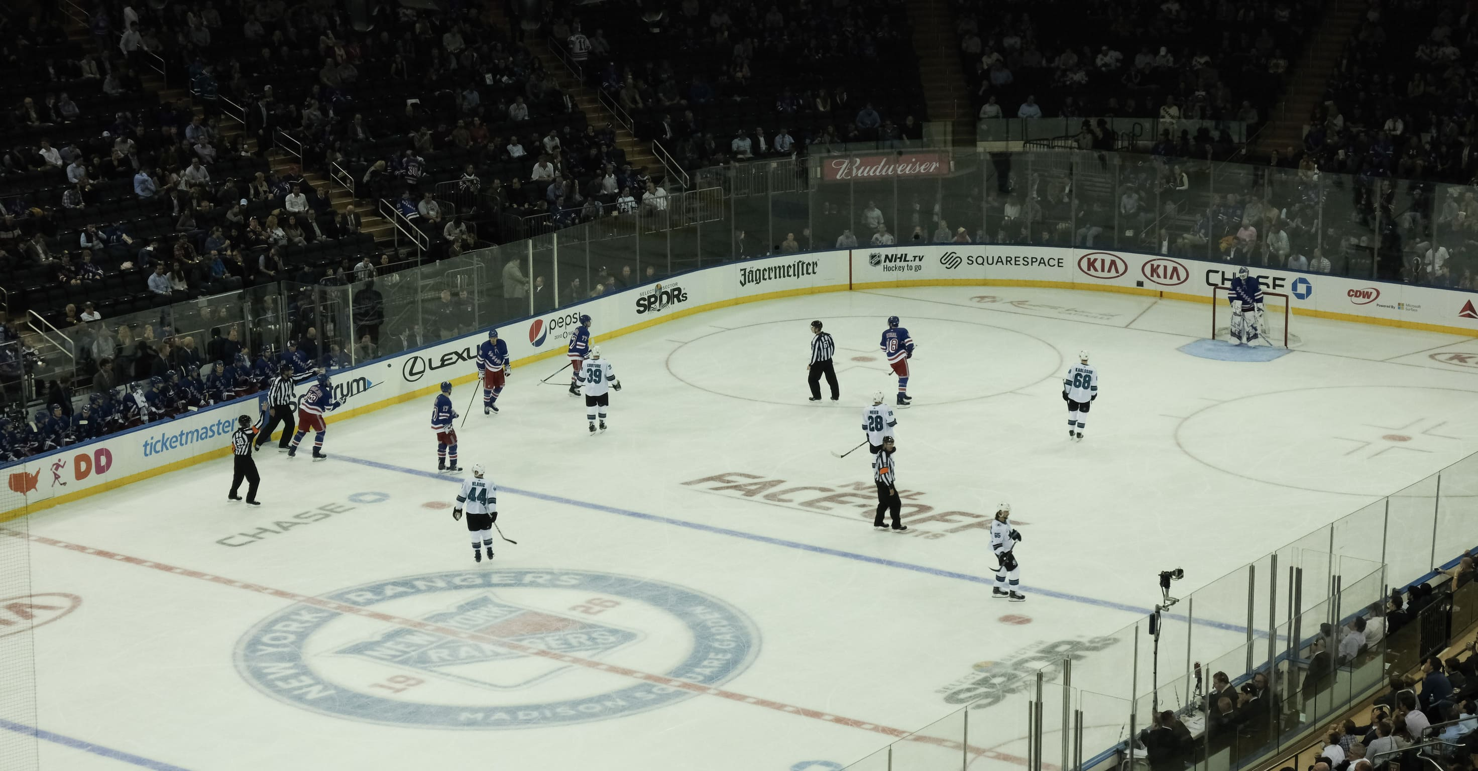 Photo of Une soirée au Madison Square Garden