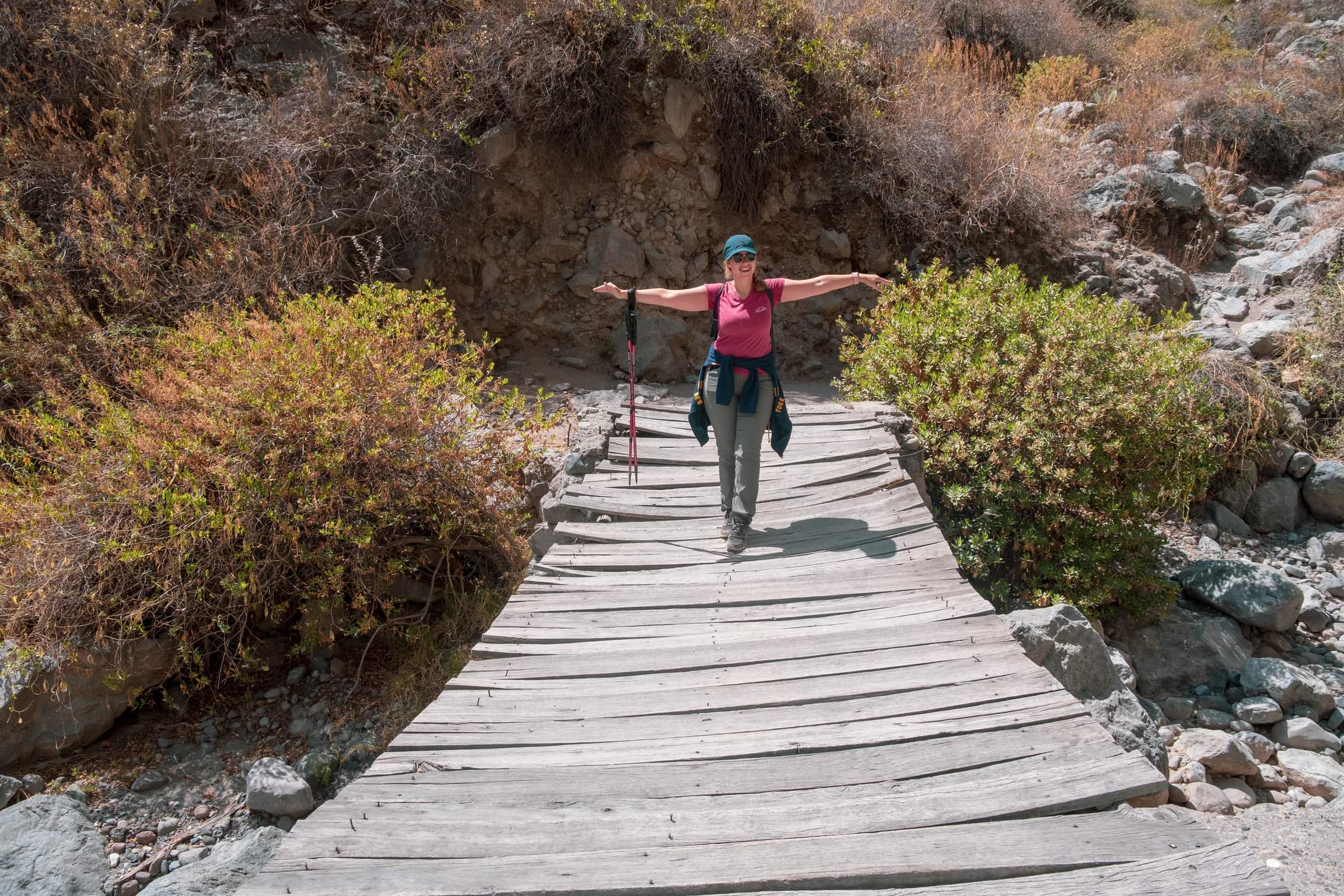 Comment Fabriquer Un Petit Pont En Bois trek de 3 jours dans le canyon de colca - gotripics