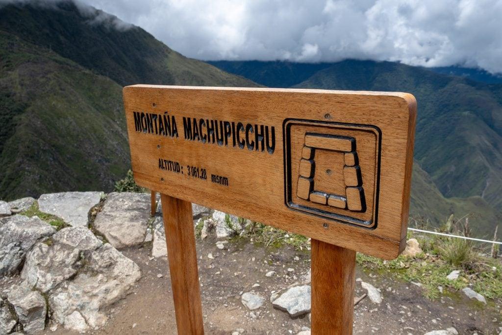 Sommet du Machu Picchu