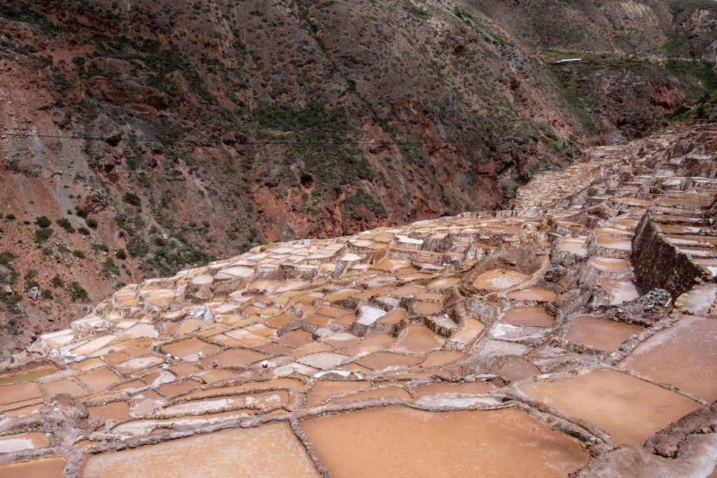 Les Salinas de Maras au Pérou