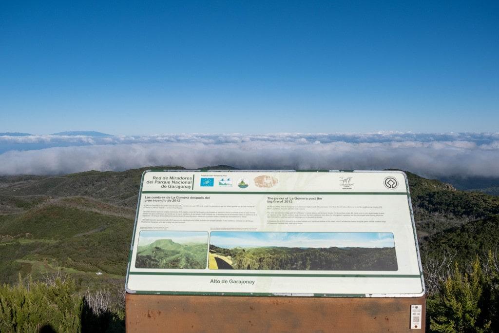 Sommet de El Alto de Garajonay