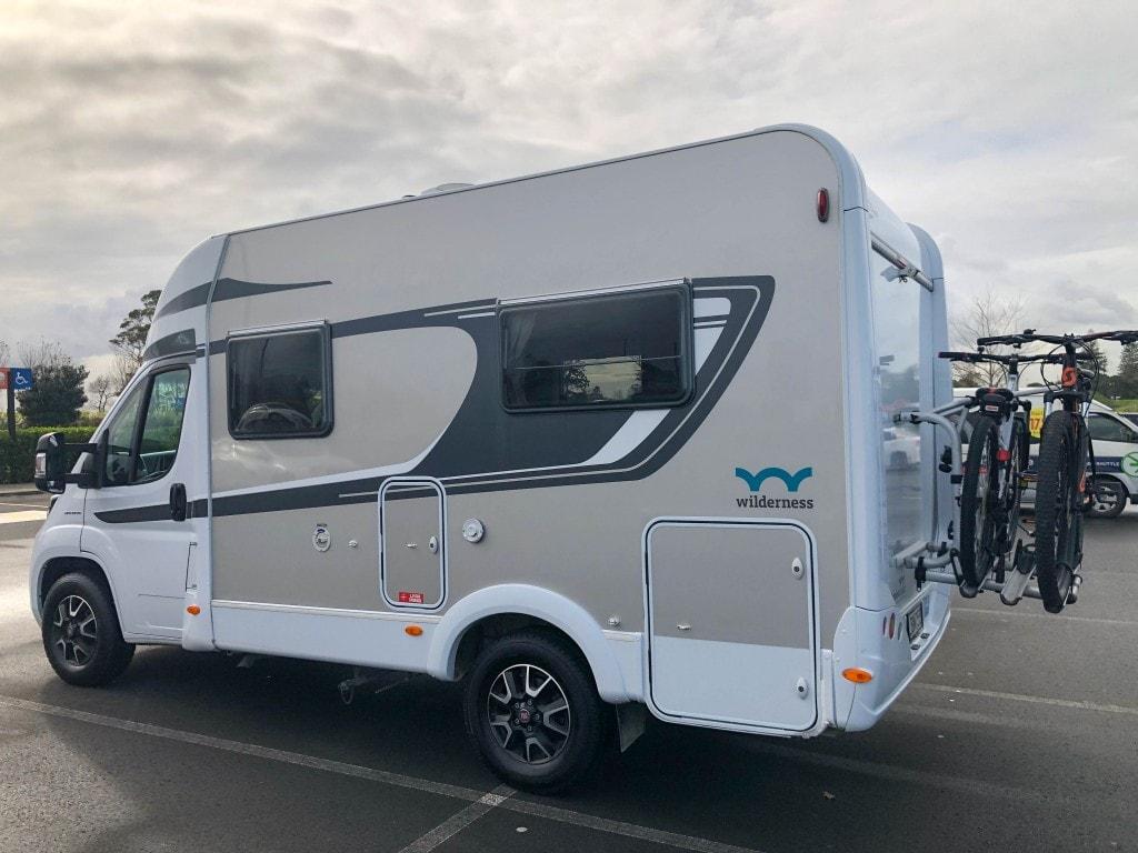 camping car en Nouvelle-Zélande